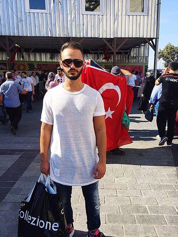 Eminönü Turkey Istanbul Türkbayrağı