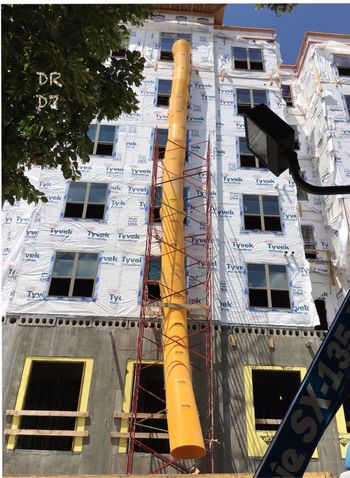 Zip Tube 😳 New Construction ; (do not enter) Building Exterior No People Built Structure Low Angle View