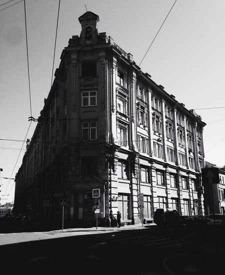 City Blac&white Arhitecture Shadows & Light