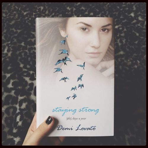 DemiLovato Staying Strong Book