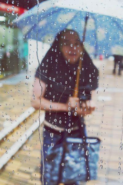 Jamira Rainy Days Streetphotography Mirrorselfie