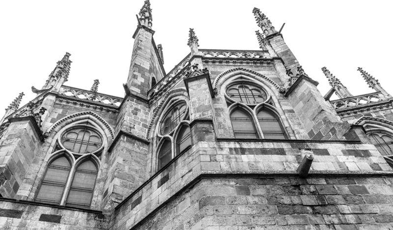 Catedral de León. Arquitecture Streetphotography LeonEsp  Arquitectura Blackandwhite Blackandwite Blancoynegro Monochrome Catedral Gotico