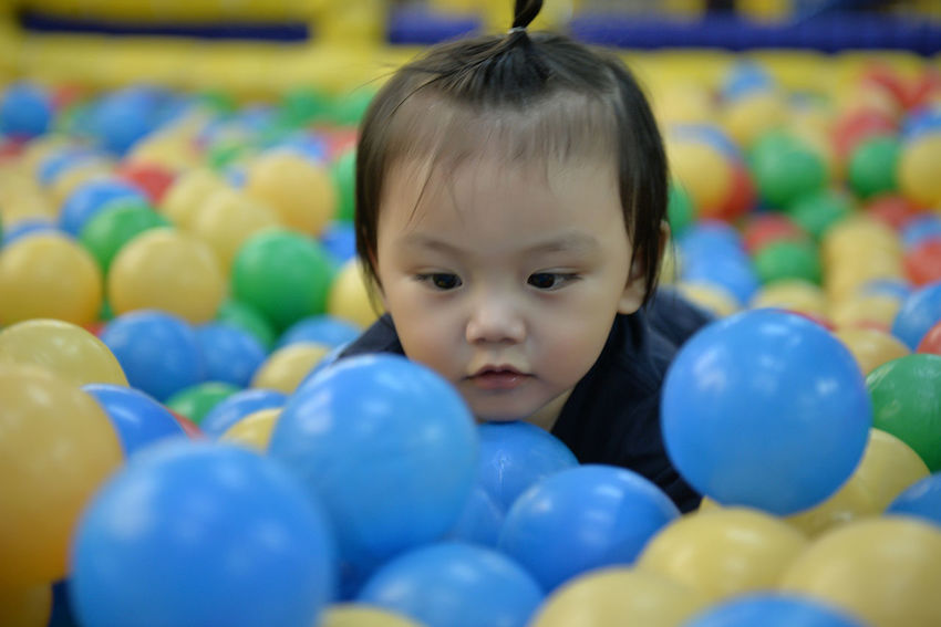 Asian  Asian Baby  Babies Baby Balls Eyeem Philippines Fun Kids Being Kids Play Playground Playground Fun Playing Playpen Playtime Todler Youth Live For The Story