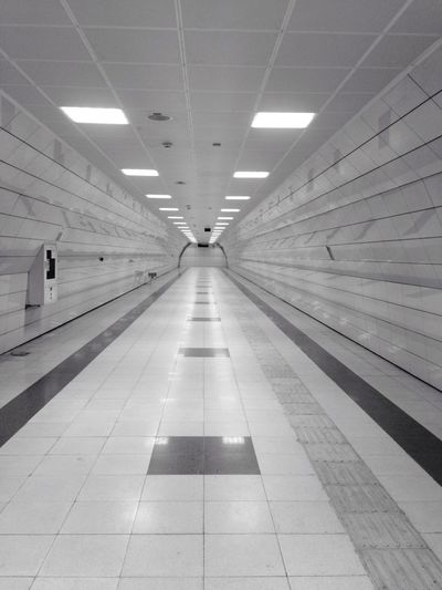 Perspective Lines Lihgts Taking Photos Enjoying Life Endless Subway Alone Life Istanbul Turkey Nothing. Underground Design Architecture Hello World Hanging Out Hi! Check This Out Relaxing Slience Working Metro Way