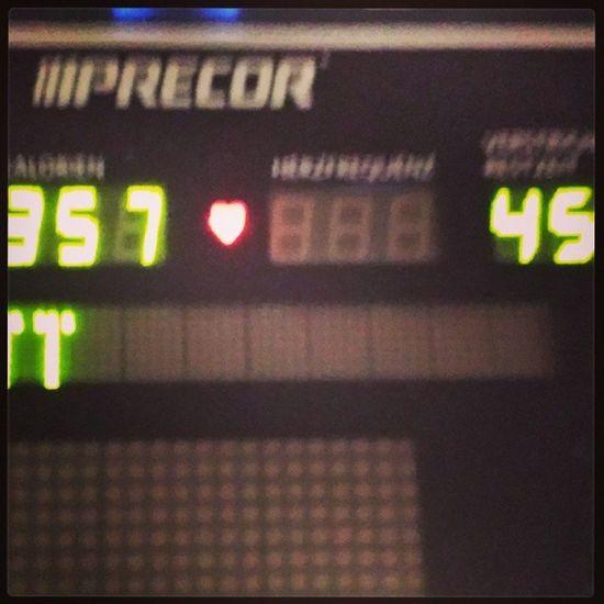 Feels good! Neuer rekord, 45 Minuten... Workout Interval Training