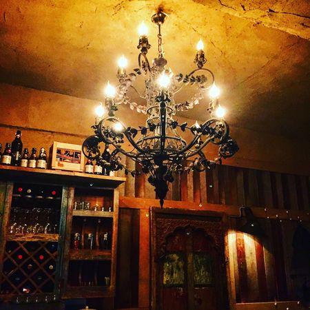 Chandelier Africa Door Bar Shabby Chic