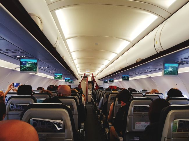 Athens to Vienna Airplane People Indoors  Lifestyles Illuminated Large Group Of People Vienna Austria 🇦🇹 Travelaroundtheworld Flying Aegean Airlines Airbus A320 Momments Takeoff ✈ Vacations
