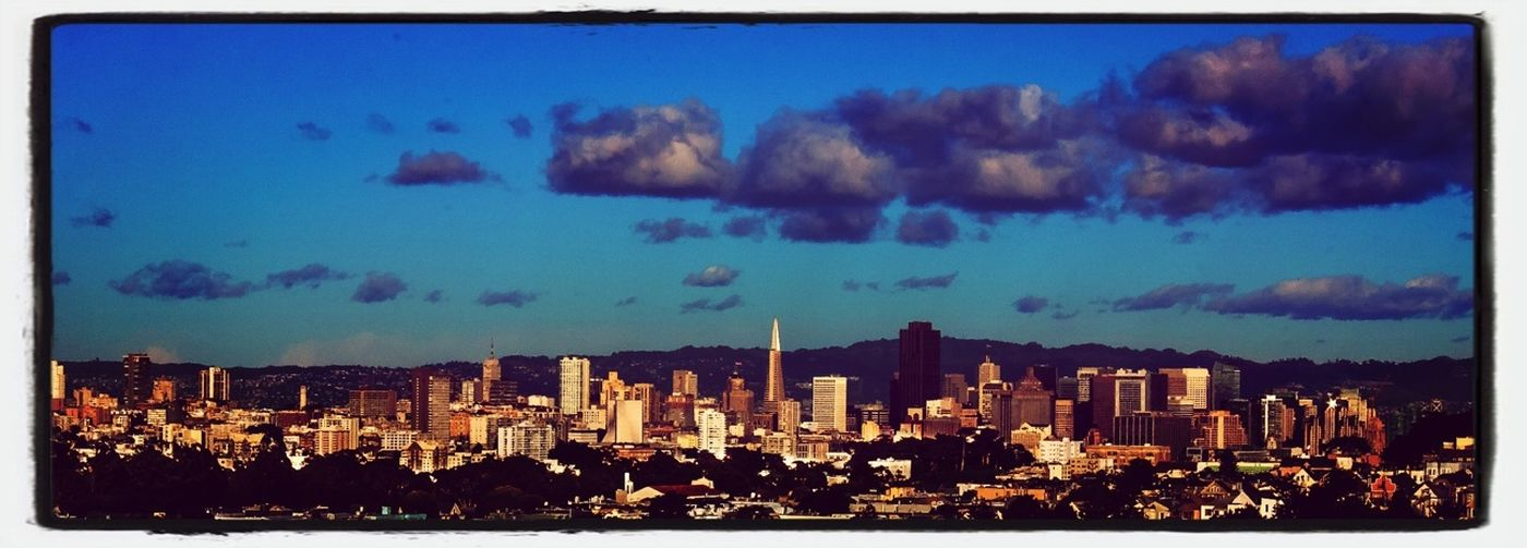 SF skyline from UCSF