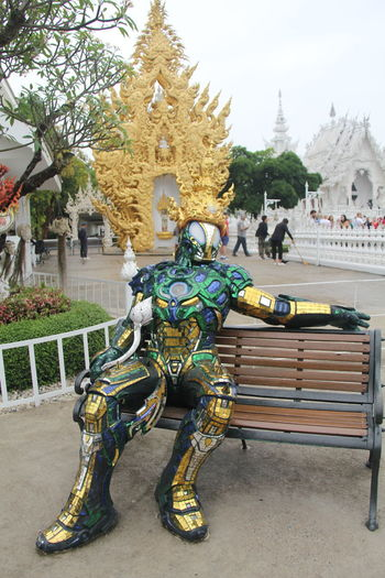 Thailand Thailand_allshots Thailandtravel Thailand Photos Thailand🇹🇭 Temple - Building Templephotography Buddhism Buddhist Temple BUDDHISM IS LOVE Chiang Mai | Thailand Chiangmai Chiang Mai Thailand Architecture Built Structure Religion Sculpture Belief Building Exterior Representation Spirituality Place Of Worship Art And Craft Plant Tree Statue Human Representation Building Day Travel Destinations Male Likeness Outdoors