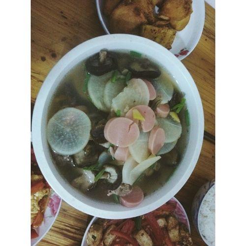 冬吃萝卜,夏吃姜。(制作者说,只发挥两成功力) Changsha Food China 长沙 自己动手丰衣足食