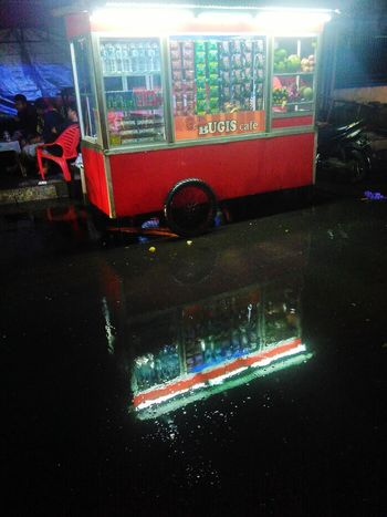 Transportation Outdoors Land Vehicle Mode Of Transport Water No People Fire Engine Night Rescue Ptb Maros-south Sulawesi-indonesia PTB Maros Vendor Nigthphotography Seller Reflection Rainy Night Street Vendors