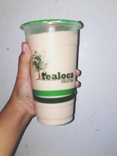 3rd favorite milktea! Wintermelon💋❤ Tealoca Wintermelon Milktea Milktealover Yummy