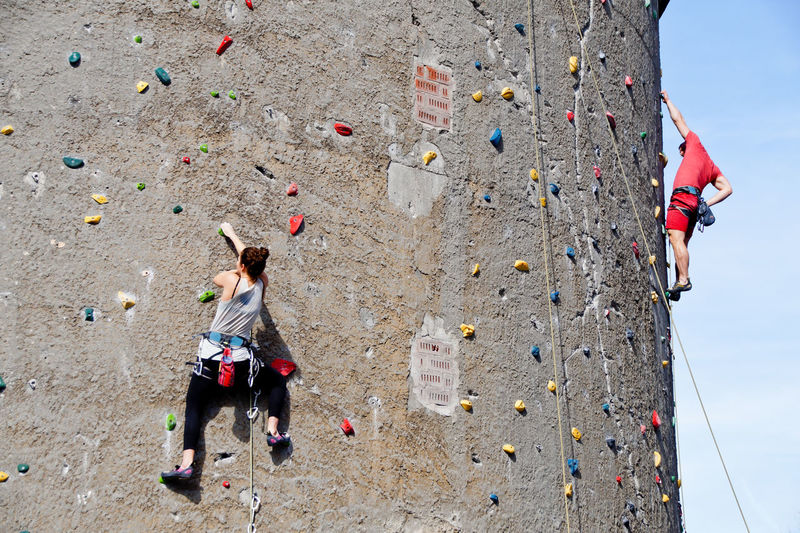 Adult Adults Only Adventure Challenge Climbing Climbing Wall Day Exercising Extreme Sports EyeEm Diversity Full Length Gripping Healthy Lifestyle Leisure Activity Long Goodbye Mid Adult Resist Rock - Object Rock Climbing Rope Skill  Sport Sports Clothing Strength The Secret Spaces