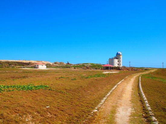 沖縄県 ( Okinawa )の 波照間島 ( Haterumajima )の星空観察タワーです。 日本最南端 。