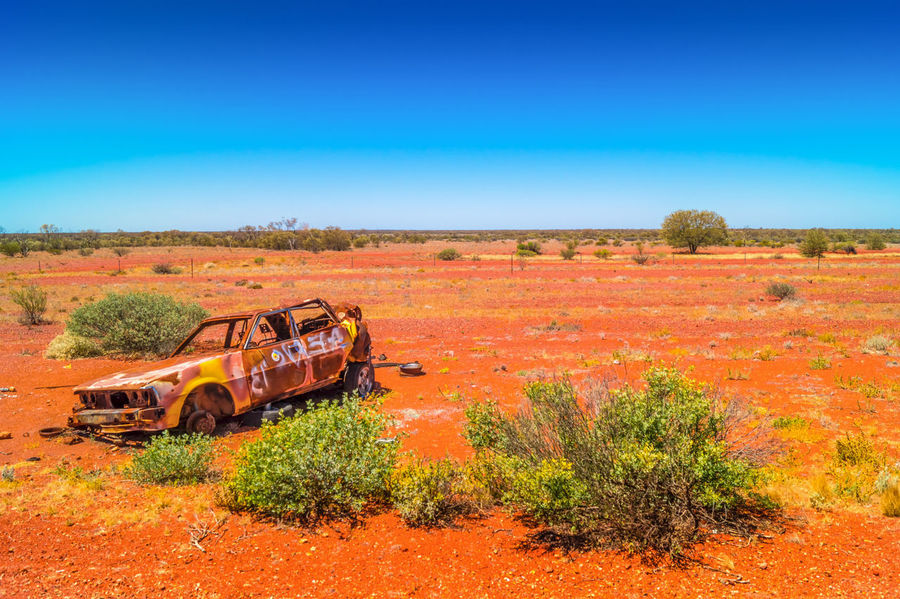 Australia Blue Green Green, Junk Cars Landscape Marla Natre Nature Outback Outback Australia Photography Red, White And Blue Sky Young Adult