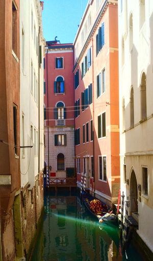 Venise Sun Rays Venice Venice Canals Gondola Canal Italy Ray Colorful Peaceful