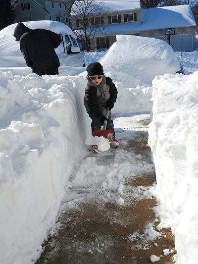 """This is my 5yr Old Son Helping to Shovel After the Huge Blizzard """"Jonas"""" We Just Had. It Was a Beautiful Moment Watching my Son Trying to Enjoy His Childhood. I Struggled with the Decision with Letting Him Go Out in the Snow After Being SO Sick for SO Long. But I Weighed the Options & I Wanted Him to Enjoy Being a Kid! & Thank All of Ya'll for the Prayers for Him, Lotsa BiG HuGs for my EyeEm Friends! ♡ ~ Taking Photos Check This Out Enjoying Life Hi! Hello World Cheese! Mylife My Life Youth Of Today Snowstorm Cold Weather Blizzard Blizzard2016 Eyeem Gallary The Blizzard Of '16 Snow Pennsylvania Unitedstates United States Blizzard 2016 Shoveling Snow Shoveling Photo White Album White Collection"""