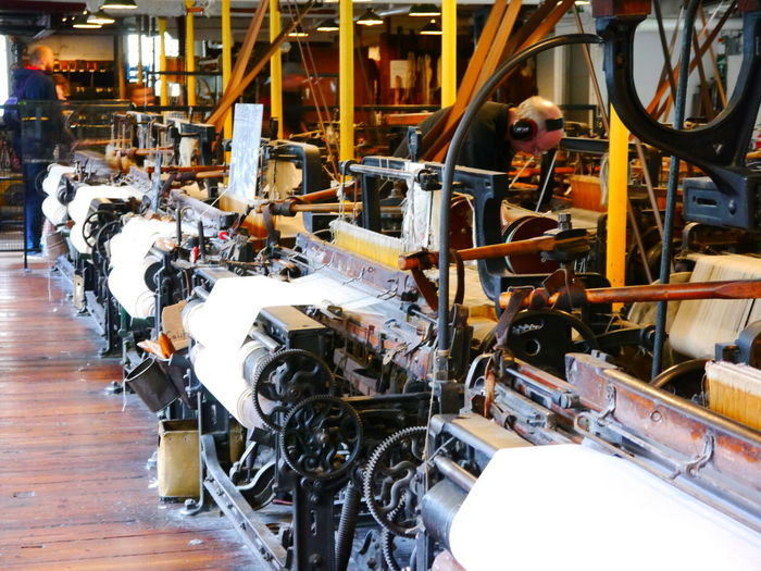 Quarry Bank Mill Indoors  Industry Machinery Equipment Factory Technology Mode Of Transportation Transportation Production Line Automobile Industry Robot Manufacturing Equipment Car Plant Car Business Motor Vehicle Working Machine Part Men Adult