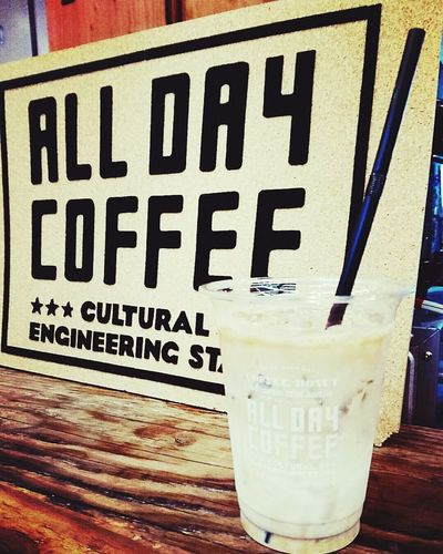 カフェタイム。。。ALL DAY COFFEEへ Cafe グランフロント大阪 ALLDAYCOFFEE