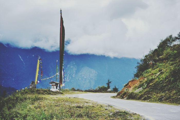 Roads Road Tranquil Scene Outdoors Cloud - Sky Sky Nikon Arunachal Pradesh India