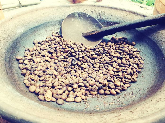 Traditional grinding coffe bean Coffee Bean Traditional Culture Traditional Grinding Coffee High Angle View Coffee - Drink Close-up Food And Drink Roasted Coffee Bean Ground Coffee Caffeine First Eyeem Photo