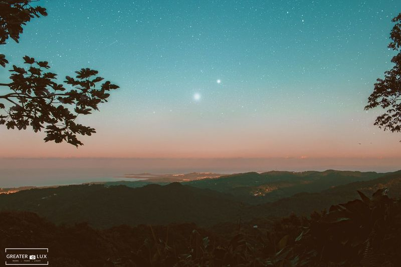 Mountain Nature Beauty In Nature Scenics Tranquil Scene Tree Sky Tranquility Landscape Mountain Range Star - Space Idyllic Moon Outdoors No People Growth Astronomy Night Galaxy Constellation