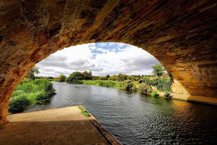 Wansford Water Arch Architecture Sky Cloud - Sky Nature Built Structure