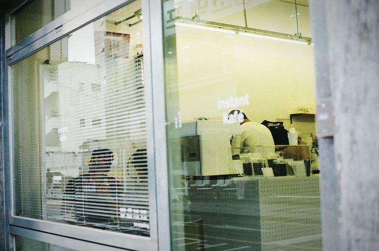 Street Cafe Simple Interior Design Minolta Alpha9000