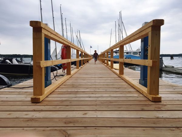 Wood - Material Sky Water Wood Paneling