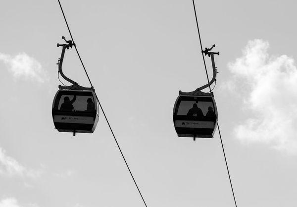 Cable Car Black & White Black And White Blackandwhite Sky And Clouds Minimal Blackandwhite Photography Minimalism Eye4photography  Minimalobsession EyeEm EyeEm Best Shots EyeEm Bnw EyeEmBestPics Monochrome Bnw EyeEm Gallery Taking Photos at Parque Das Nações Portugal