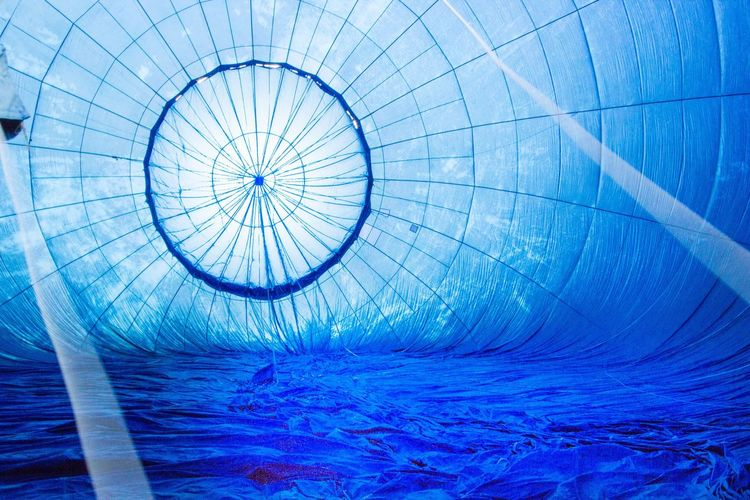 Blue No People Full Frame Day Close-up Water Concentric Outdoors Nature Hot Air Balloon Insight Ladyphotographerofthemonth Insights Detail Single Object Background Balloons Balloon Circle Circles Circles In Circles Circles Pattern