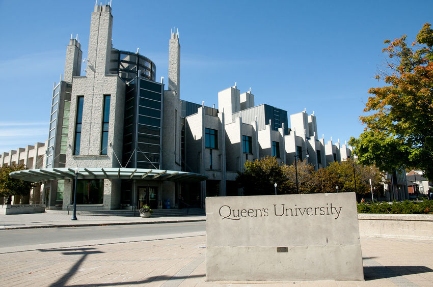 Queen's University Buildings - Kingston - Canada Campus Kingston Queen's University Sign Architecture Building Exterior Built Structure Canada