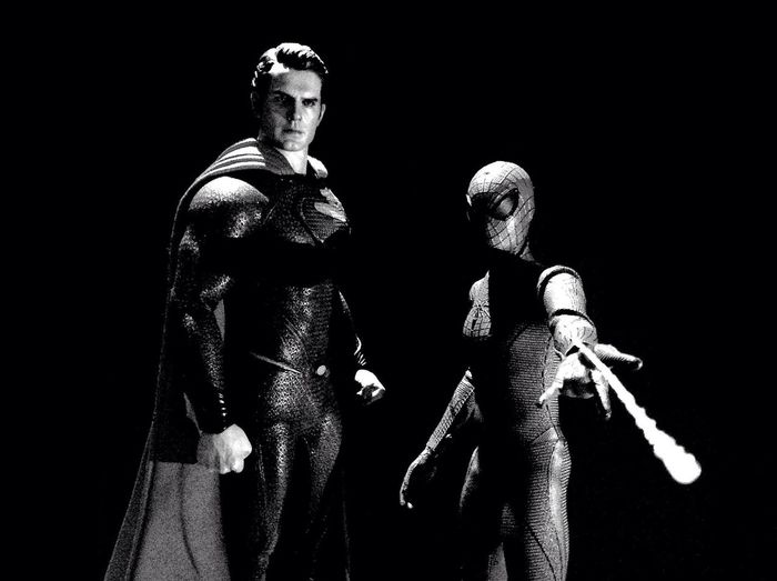 Henry Cavill Superman Hot Toys Spider-man Check This Out EyeEm Best Shots - Black + White Black And White Collection  Toyphotography Toy Photography Black&white Monochrome Blackandwhitephotography Blackandwhite Photography Toys Black And White Photography Blackandwhite Black & White B/W Photography EyeEm Best Shots Black And White B/w Spiderman Toy Action Figures