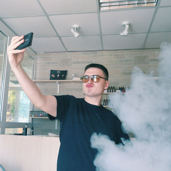 Perfect Portrait Selfie Vape VapeShop ПарОк EyeEm Питер Russia, St.Petersburg EyeEmRussianTeam