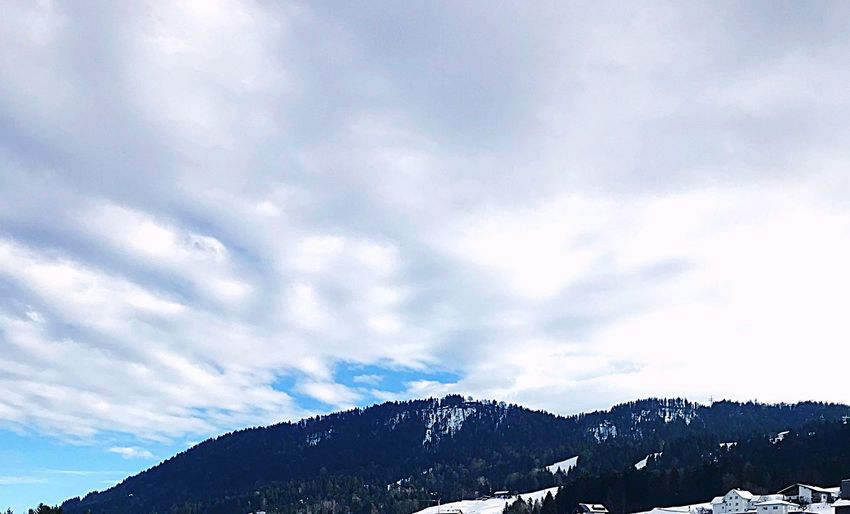 Home Snow Mountain Winter Cold Temperature Nature Cloud - Sky No People first eyeem photo