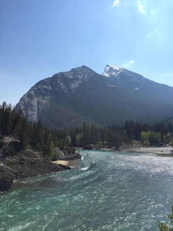 Beautiful River Banff  Canada Alberta Banff National Park  The Photojournalist – 2016 EyeEm Awards The Great Outdoors - 2016 EyeEm Awards Found On The Roll Mountains Lovely This Week On Eyeem Breathtaking Landscape