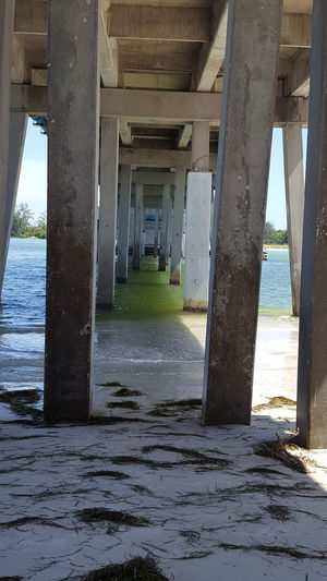 Under the drawbridge Under The Bridge Drawbridge  Florida Afternoon Florida Life Around My Town Low Tide Loving Life