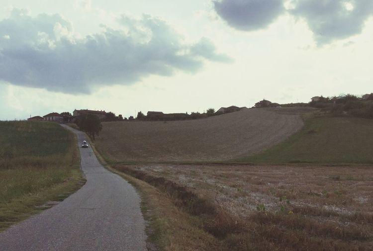 Sky Cloud - Sky Road Landscape Environment Land Nature