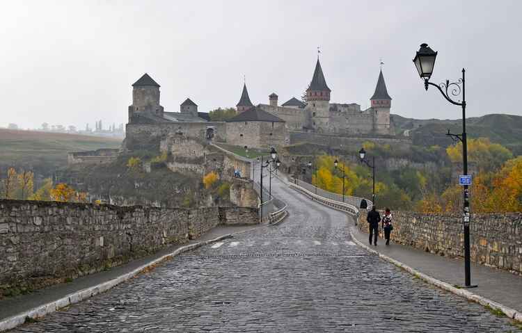 Medieval fortress in Kamianets-Podilskyi, Westrn Ukraine Ancient Architecture Architecture_collection Architecturelovers Castle Castles City Day Europe Fortress Heritage History Kamenets-Podolsky Medieval Old Perspective Tower Ukraine UNESCO World Heritage Site Urban Landscapes With WhiteWall