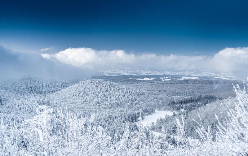 Snow auvergne