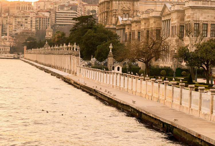 Bosphorus by dolmabahce palace