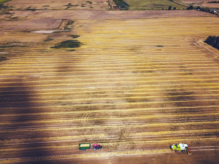 Harvesting DJI Mavic Pro DJI X Eyeem Drone  Lietuva Aerial Agriculture Agriculture Fields Brown Combain Day Drone Photography Environment Europe Farm Field High Angle View Land Land Vehicle Landscape Mavic Mavic Pro Mode Of Transportation Motion Nature No People Outdoors Pattern Ripe Crops Rural Scene Summer Sunlight Transportation Wood - Material