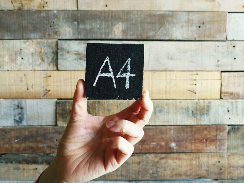 A4 Human Hand Men Blackboard  Human Finger Holding Close-up Information Finger Information Sign Signboard Capital Letter