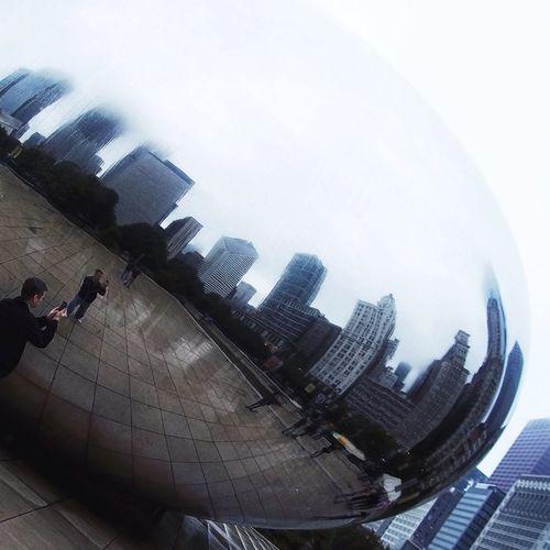 Architecture Cloud Gate The Bean Beangames