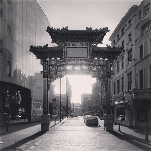 Chinatown London Architecture Built Structure City Street Outdoors Sky Day No People City Gate Chinatown Chinatownlondon Architecturalphotography Architectural Feature Architecture_collection Architecturelovers Architecture_bw ArchiTexture Architecture And Art Arches