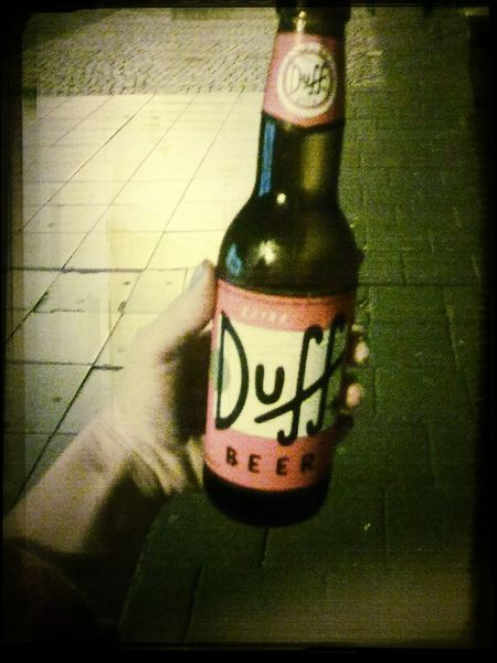 Duff Beer in Antwerp