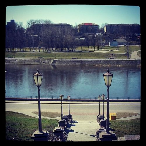 Nature Nice Neman Grogno city river photo pic view wow water Belarus beautiful beauty me