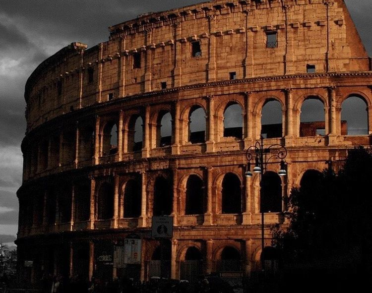 Architecture Built Structure Travel Destinations Cultures Amphitheater No People Rome Italy🇮🇹 Collosseum