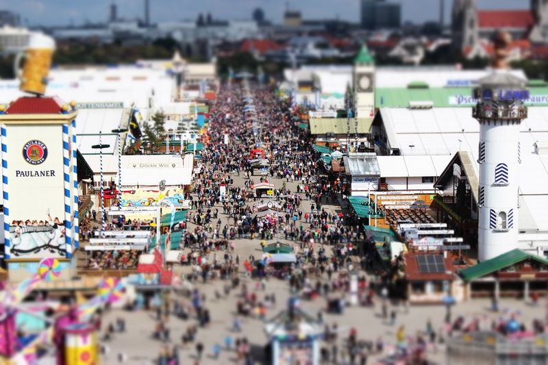 Wiesn 2014 🎡 Oktoberfest 2014 Wiesn2014 Miniatureffekt