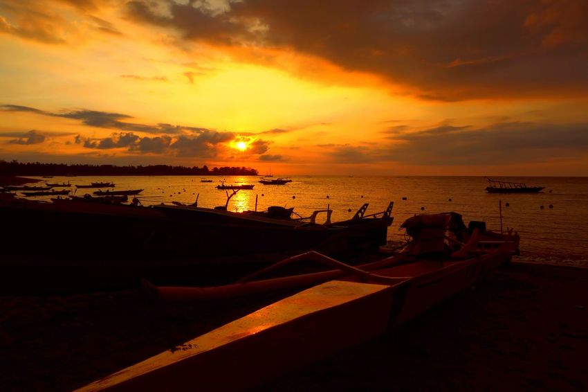 Fishserman village. Jambianom North Lombok Lombok Island Sunset Silhouettes From My Eye Of View Indonesian Photographers Collection EyeEm Lombok Island Color Palette